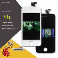 Ovsnovo 100 AAA No Dead Pixel LCD Touch Screen For IPhone 4 4s Display Digitizer Assembly