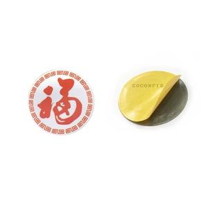 Image 2 - (10 sztuk/partia) RFID 125KHz T5577 wielokrotnego zapisu monety karty Tag do kopiowania okrągły kształt naklejki wykorzystanie do telefonu komórkowego