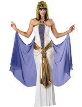 MOONIGHT New Greece Egyptian Princess Cleopatra Queen Halloween Adult Cosplay Women Sexy Party Carnival Long Dresses