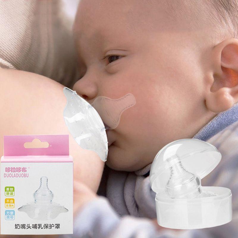 Baby Accessories Silicone Nipple Shield Maternity Protector Baby Nursing Breast Milk Feeding Shell