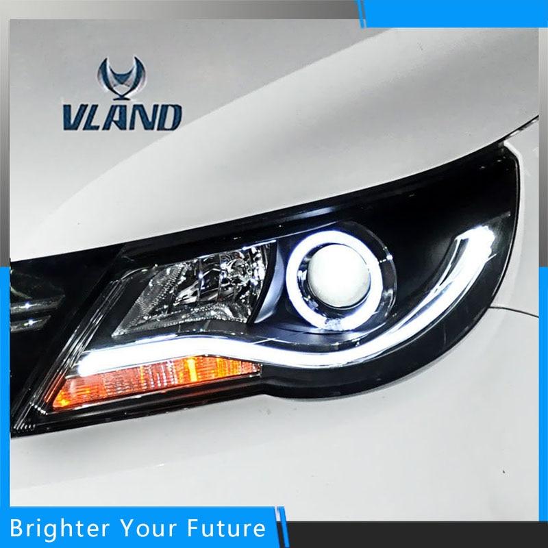 For Volkswagen Tiguan 2010-2012 Headlight Headlamp Assembly чехол seintex 85443 для volkswagen tiguan