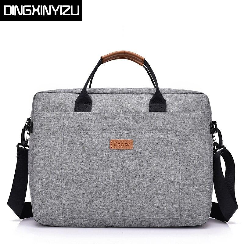 Dingxinyizu Оксфорд Для мужчин Курьерские сумки большой Ёмкость Портфели Сумки мужской сумка для ноутбука Для женщин сумка Повседневное Tote
