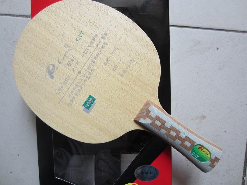 Original Palio CAT Table Tennis Blade 3wood+2carbon , Best Light Racket Racquet Sports Ping Pong Racket Set