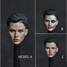 1/6 Scale Famous Star Ruby Rose Female Women Head Sculpt Carved Model for 12Suntan Action Figures Toys Gifts