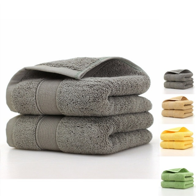 100% Turkish Cotton Hand Towel Very Soft and Absorbent, 170G Heavy Weight for everyday Luxury Solid color Absorbent