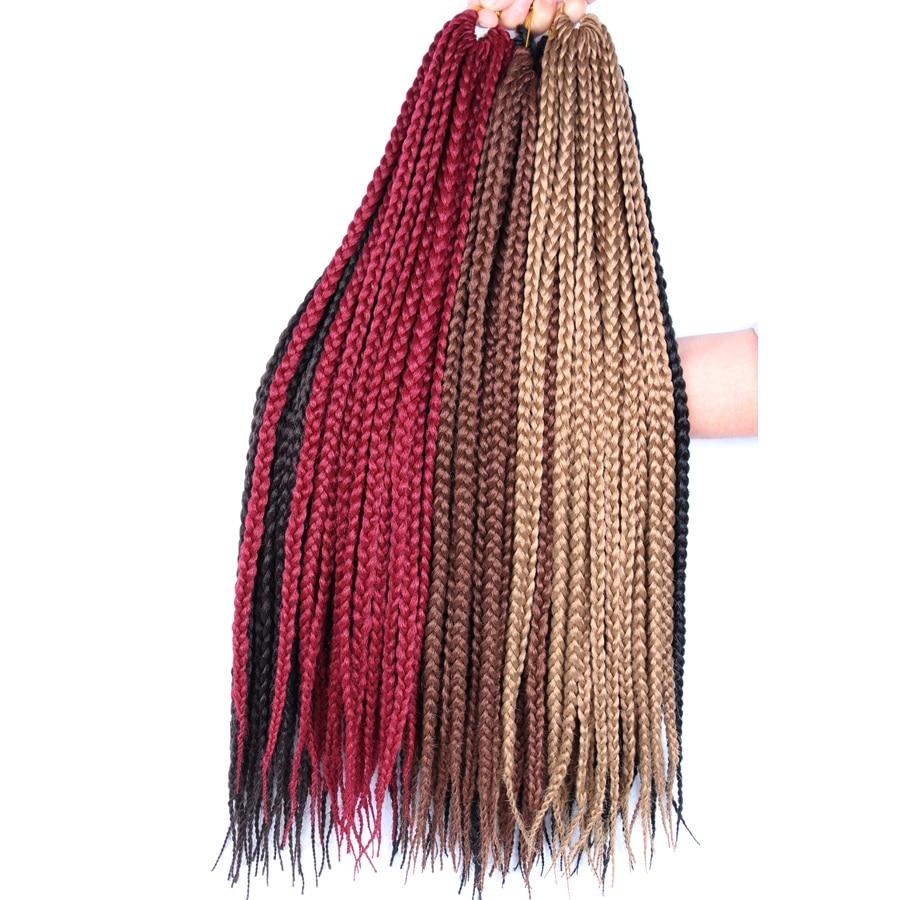 Alileader Crochet Braid Box Braids Long 30 Inch High