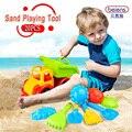 20 pçs/set marca de alta qualidade do bebê PP plástico areia ferramenta de jogo para crianças brinquedos de praia brinquedos de banho brinquedo para 3 + crianças verão ao ar livre presentes