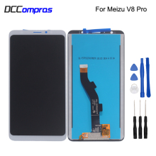 цены на For Meizu V8 Pro LCD Display Touch Screen Digitizer Assembly For Meizu V8 Pro Phone Parts Screen LCD Display Free Tools  в интернет-магазинах