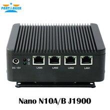 Participant Sans Ventilateur Mini PC J1900 Quad Core 4 * Intel WG82583 Gigabit Lan Pare-Feu Multi-fonction Routeur