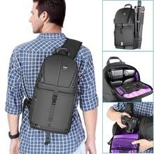 Neewer Bolsa de almacenamiento profesional para cámara DSLR, mochila de transporte negra resistente al agua y a prueba de roturas