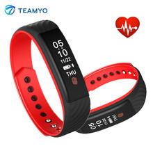 Teamyo W810 Smart Band Bluetooth 4.0 импульсов сердечного ритма фитнес-трекер Smart Браслет сна монитор спортивные Relogio Смарт-часы