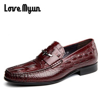High Quality Brand Men Bullock Driving Shoes Luxury Loafers Men Boat Shoes Genuine Leather Casual Shoes