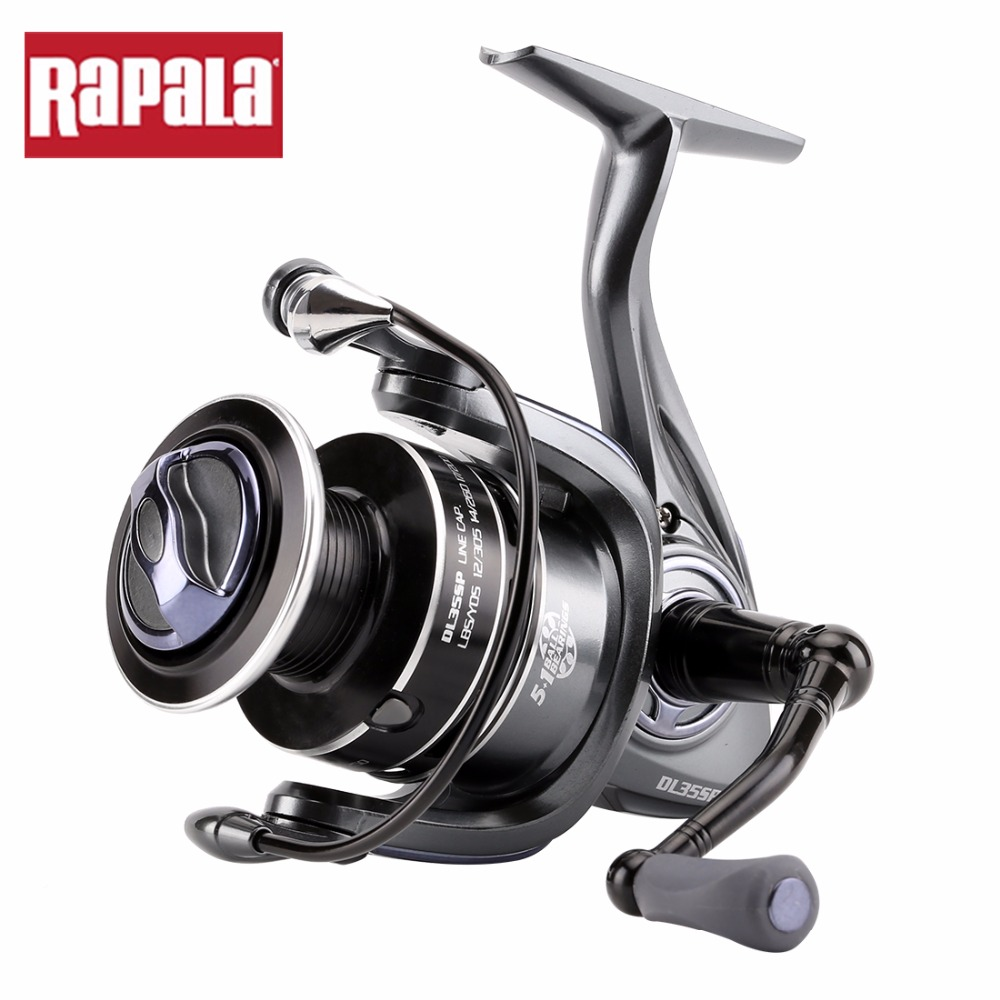 Original Rapala DELTA 15 25 35SP Spinning Fishing Reel 5 1BB graphite body Long Cast Saltewater