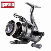 Original Rapala DELTA 15 25 35SP Spinning Fishing Reel 5+1BB graphite body Long Cast Saltewater Fishing Gear