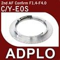 Pixco 2nd Adjustable AF Confirm Adapter Suit For C/Y Contax Yashica To Canon 600D 5D II 1100D 60D 50D 40D 30D 20D 550D Camera