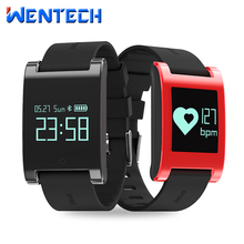 Сердечного ритма умный Браслет Калорий крови Давление монитор спортивные здоровый браслет DM68 руки поднять свет для iOS и Android