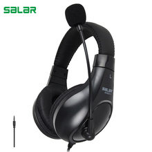 Salar A566N Headphones Earphones with microphone Gaming Headset For Phones Computer PC laptop headphone