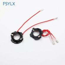 Adapter-Holder Headlight-Bulb Golf-5 Clip Headlamp-Socket H7 Led FSYLX for VW 6pcs Car