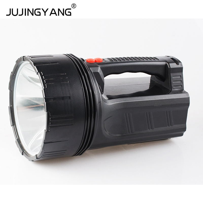 High efficiency use of outdoor waterproof rechargeable searchlight