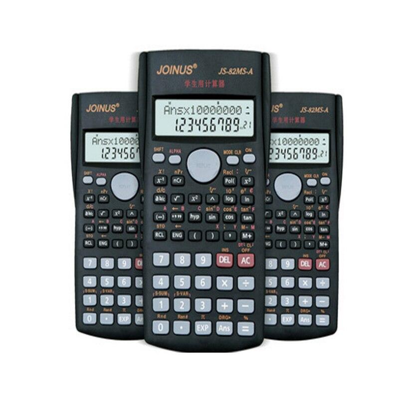 Функция калькулятор UNIWISE Ручной multi-Функция 10 + 2 Цифровой Дисплей 2-линии ЖК-дисплей научный калькулятор, hhd-м gj