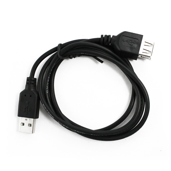 купить USB Extension Cables EF USB 2.0 A MALE TO A FEMALE EXTENSION CABLE M-F F for Flash Memory Pen Drives, Digital Camera недорого