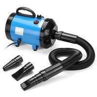 Pink Black Blue 220V Adjustable Dog Grooming Dryer Pet Hair Dryer Strong Power Low Noice Blower 2800W Eu Plug
