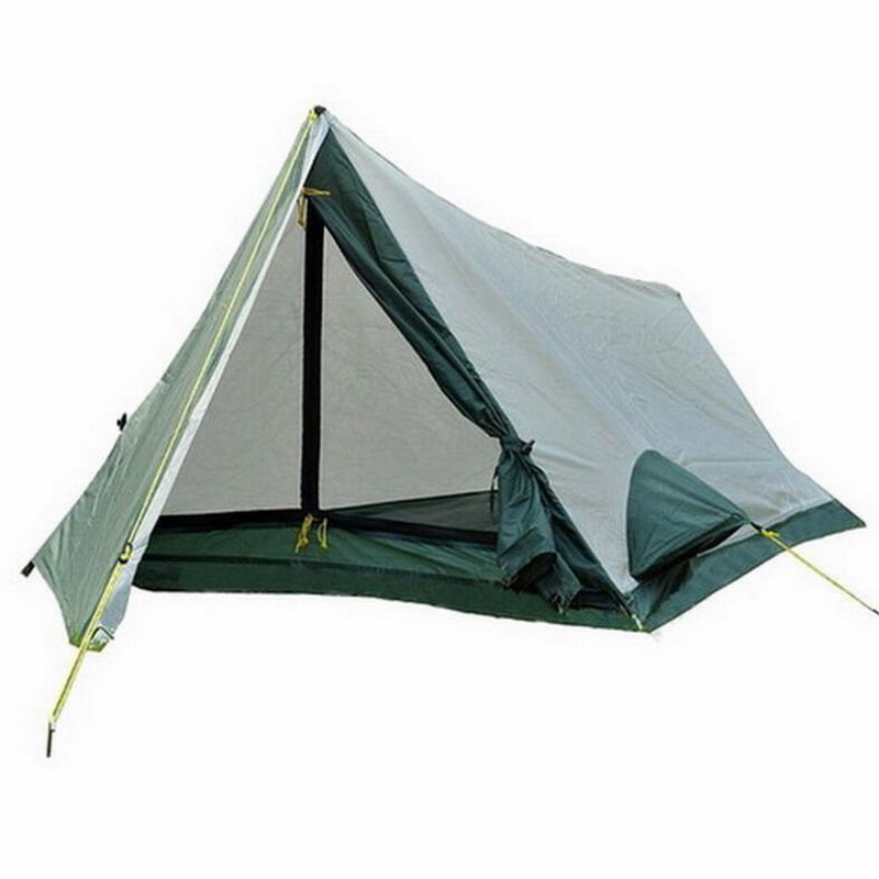 Double-decker 1 person-2 person camping tent. Outdoor hiking, mountaineering, survival, light and small size, convenient tent Double-decker 1 person-2 person camping tent. Outdoor hiking, mountaineering, survival, light and small size, convenient tent
