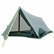 Double-decker 1 person-2 person camping tent. Outdoor hiking, mountaineering, survival, light and small size, convenient tent