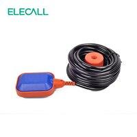 Alta calidad 10 m interruptor de flotador líquido Interruptores cable líquido nivel de agua flotador interruptor sensor del contactor