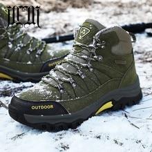 MUMUELI Plus Large Size Black Green Gray Plush New 2019 Designer Snow Men Shoes High Top Quality Fashion Luxury Boots Brand 6026