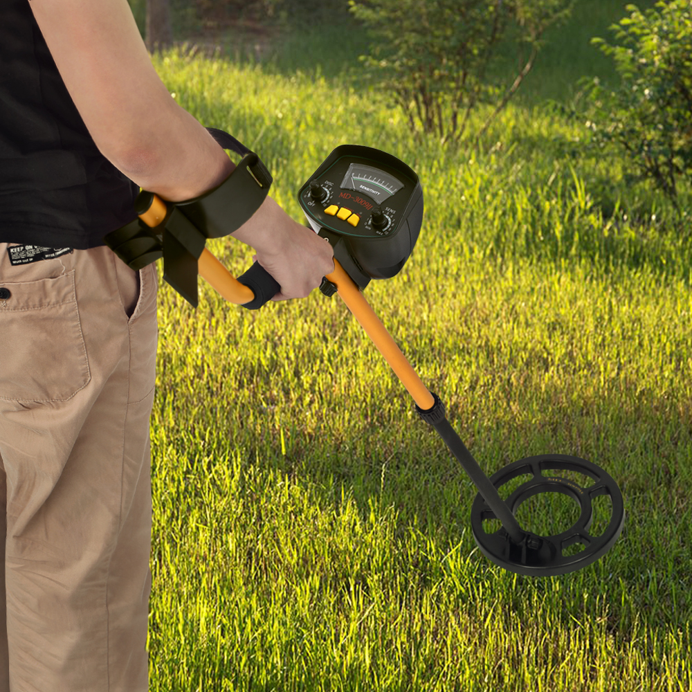 KKmoon Professional Underground Metal Detector MD3009II Gold Ground Metal Detector MD-3009ii Nugget High Sensitivity Finder free shipping md4030 underground metal detector md 4030 ground metal detector gold detector nugget detector