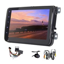 2 Din Car Head Unit 8 Inch android 5.1 WIFI GPS Navigation AM/FM Radio Bluetooth Handsfree Special for Volkswagen CANBUS Camera