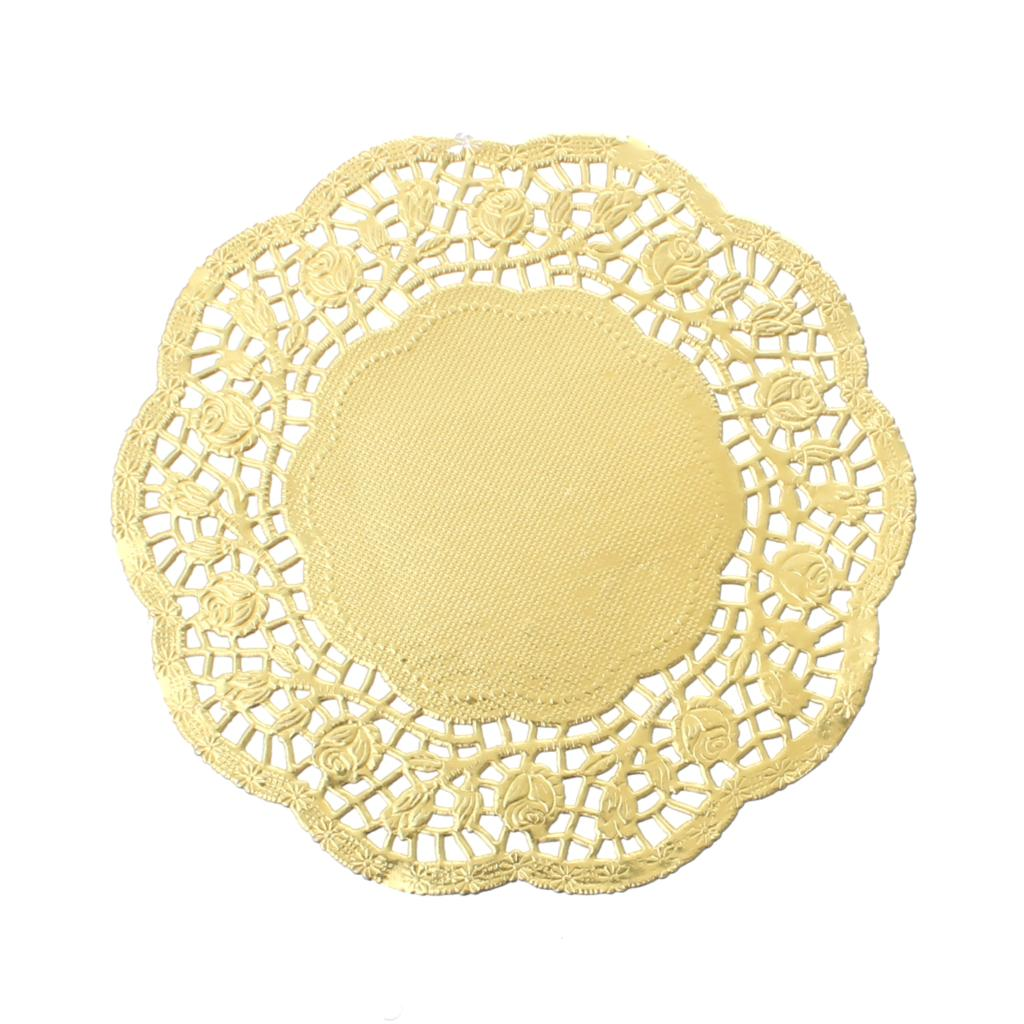 Paper craft making lace doilies round golden flower pattern 14cm paper craft making lace doilies round golden flower pattern 14cm x14cm5 48 x5 481 packetapprox 100sheets 2015 new in hair clips pins from beauty jeuxipadfo Image collections