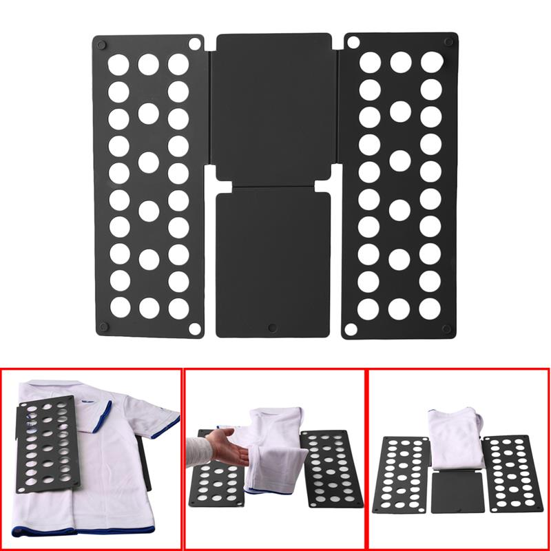 Magic Save Time Clothes Folding Board Multi-Functional T-Shirt Kids Size Quick Folders Organizer Laundry  Plastic  Home Storage