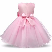 Flower Sequins Princess Toddler Girl Dress