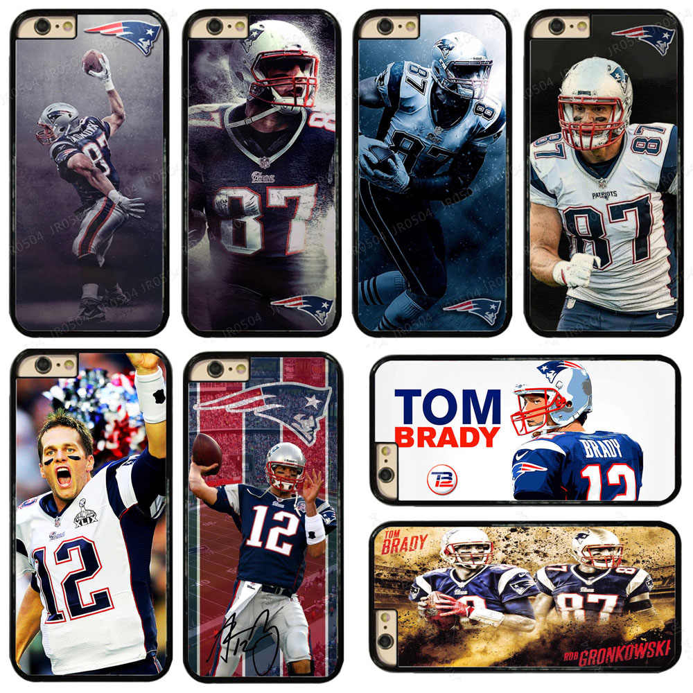 big sale 005d6 e21b0 Detail Feedback Questions about JR0504 Patriots Brady PC+TPU Edge ...