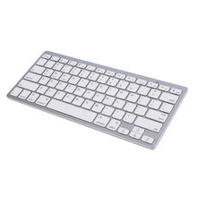 Newest Ultra-slim Wireless Keyboard Bluetooth 3.0 Waterproof Keyboard For Android for MAC for iPad for Windows for OS System