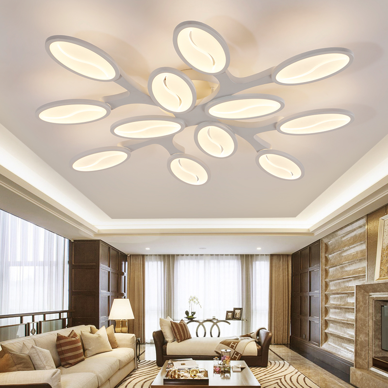 Modern minimalist LED ceiling Light Branch Ceiling lamps for Bedroom Living room home deco light fixtures