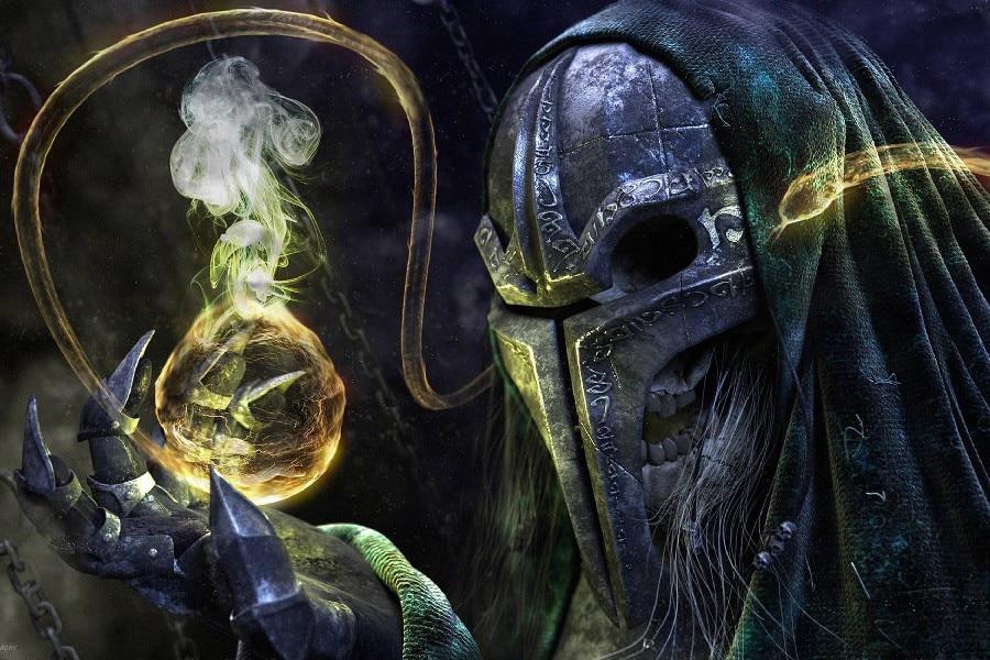 ✓DIY marco máscara humo cráneo fantasía CG funciona ilustraciones ...