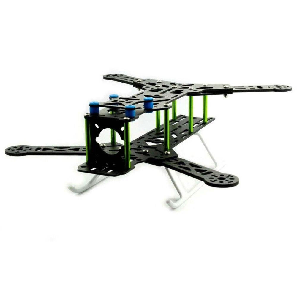 RC modèle 300mm empattement en Fiber de carbone QAV300 cadre bricolage quadrirotor Rack 6 pouces FPV course Drone Kits CF300H RC pièces