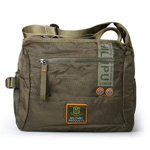 Image 5 - 2020 Men Messenger Multifunction Bags fashion Cross crossbody bag Leisure oxford cloth casual travel men messenger bag Toolkit