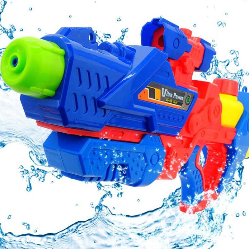 Children's Water Gun Toy Play Water Drifting Water Gun Beach Toys Pull Type Adult Large Range Far Summer Swimming Pool Toys