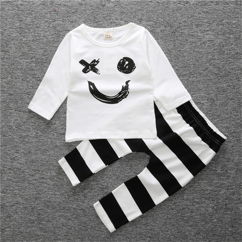 Baby Boy Clothes Spring Baby Girl Clothing Set Cotton Newborn Baby Clothes Infant Roupas Bebe Long Sleeve Children Clothing