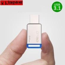 Kingston USB Flash Drive Pendrive 8gb 16gb 32gb 64gb 128gb USB Three.1 Pen Drive Disk Steel cle USB Three.zero Flash Reminiscence Stick U Disk