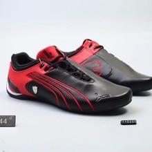 Original Puma futuro gato M2 SF transpirable de los hombres zapatillas de  deporte de cuero de Zapatos rojo Blanco Negro zapatos . a5fa6c9d5891d