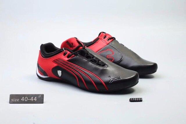 Оригинальная Puma Future Cat M2 SF дышащий Для мужчин кожаные кроссовки  красный белый черный 313d9151fdfdf