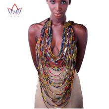 African Accessories for Women Bohemia Style Women Necklaces & Pendants Rope Chain Statement Necklace Pendant For Gift