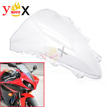 YZF-R1 07-08 Clear Sport Bike Motorcycle ABS Windscreen Windshield Front Fairing Deflector For Yamaha YZF 1000 R1 2007 2008