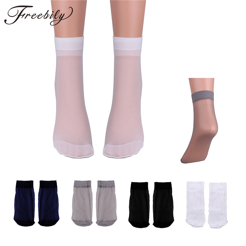 3 Pair/ Lot New See Through Sheer Men Socks High Quality Summer Breathable Cool Crystal Silk Over Ankle Length Stretchy Stocking