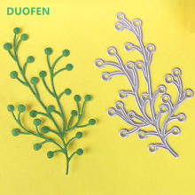 DUOFEN 2018 New Trees metal Cutting Dies Stencils for DIY Scrapbooking stamping Die Cuts Paper Cards craft dies in cutting